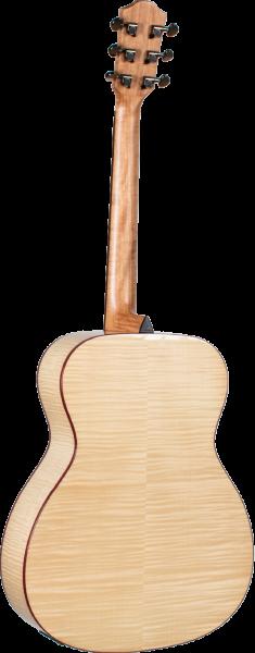 back of Purple Heart Guitar