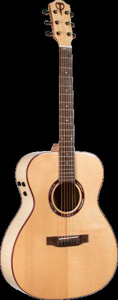 Front of Purple Heart Guitar
